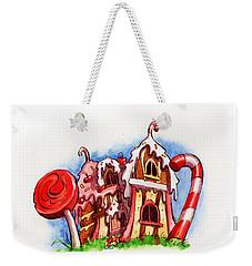 Sweety House Weekender Tote Bag by Andy Catling