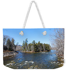 Swift And Saco Rivers Meet Weekender Tote Bag
