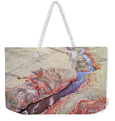 swift creek at  Colorado foothills - aerial view Weekender Tote Bag