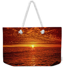 Weekender Tote Bag featuring the photograph Swiftly Flow The Days by Phil Koch