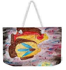 Swimming By Weekender Tote Bag