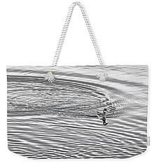 Swimming From Circles Weekender Tote Bag