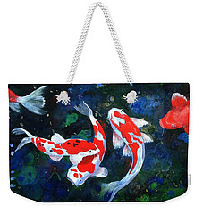 Swimming In Peace Weekender Tote Bag