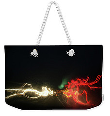 Swimming Lights Weekender Tote Bag by David Pantuso