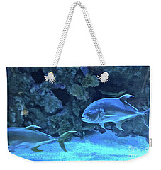 Swimming On The Bottom Weekender Tote Bag