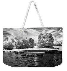 Swimming With Cows II Weekender Tote Bag