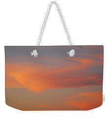 Swirling Clouds In Evening Weekender Tote Bag