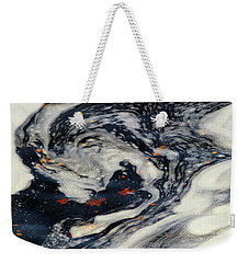 Swirling Current Weekender Tote Bag