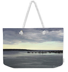 Swirling Currents On Casco Bay Weekender Tote Bag by Patricia E Sundik