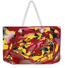 Swirling Fire Weekender Tote Bag
