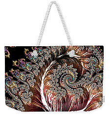 Swirls And Roots Weekender Tote Bag