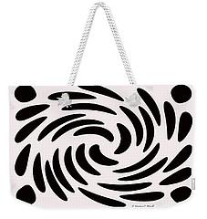 Swirls N Dots 56 Weekender Tote Bag