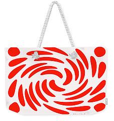 Swirls N Dots S2 Weekender Tote Bag