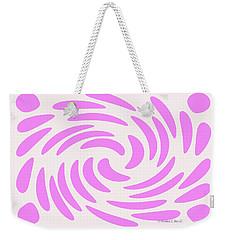 Swirls N Dots S4 Weekender Tote Bag