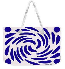 Swirls N Dots S7 Weekender Tote Bag