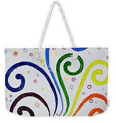 Swirls Weekender Tote Bag by Sonali Gangane