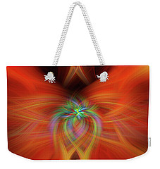 Swirly Twirls Weekender Tote Bag by Cathy Donohoue