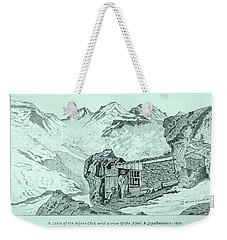 Swiss Alpine Cabin Weekender Tote Bag