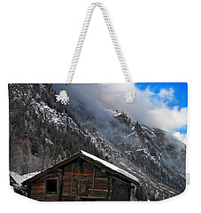 Swiss Barn Weekender Tote Bag