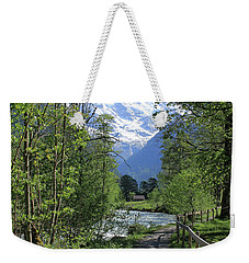 Switzerland, Lauterbrunnen Valley In Spring Weekender Tote Bag