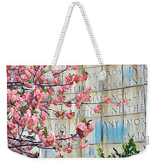 Swords Into Plowshares - Spring Flowers Weekender Tote Bag
