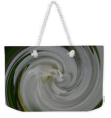 Weekender Tote Bag featuring the photograph Swrling Rose by Richard Ricci