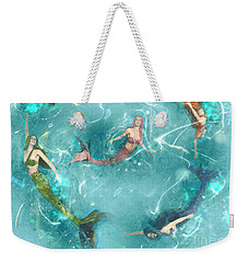 Sychronized Swimming Weekender Tote Bag
