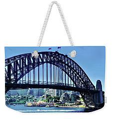 Sydney Bridge With Luna Park Weekender Tote Bag