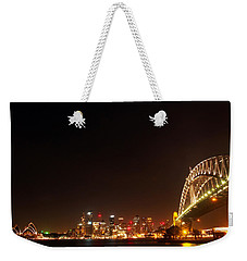 Sydney By Night Weekender Tote Bag by Kaleidoscopik Photography