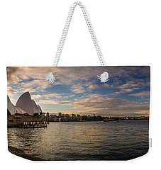 Weekender Tote Bag featuring the photograph Sydney Harbor by Andrew Matwijec