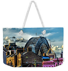 Sydney Harbor Bridge Weekender Tote Bag by Diana Mary Sharpton