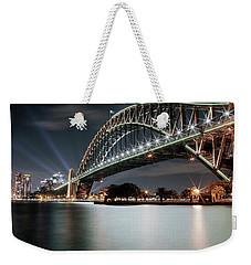 Sydney Harbour Lights Weekender Tote Bag