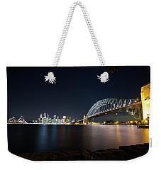 Sydney Harbour Silk Weekender Tote Bag