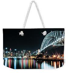Sydney Harbour Sparkle Weekender Tote Bag