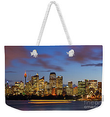 Sydney Harbour Sunset Weekender Tote Bag