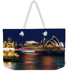 Sydney Night Life Weekender Tote Bag