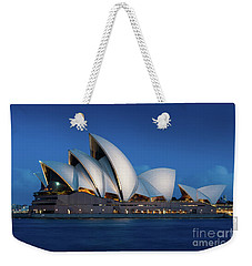 Sydney Opera House After Dark Weekender Tote Bag