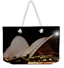 Weekender Tote Bag featuring the photograph Sydney Opera House Close View 2 By Kaye Menner by Kaye Menner