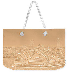 Sydney Opera House No. 17-2 Weekender Tote Bag by Sandy Taylor