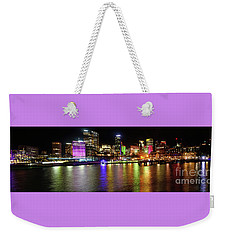 Sydney Skyline By Kaye Menner Weekender Tote Bag by Kaye Menner