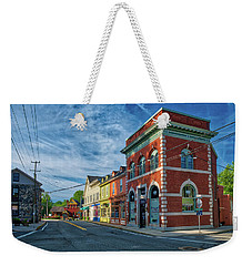 Weekender Tote Bag featuring the photograph Sykesville Main St by Mark Dodd