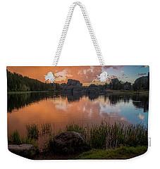 Weekender Tote Bag featuring the photograph Sylvan Lake by Gary Lengyel