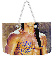 Sylvester Stallone Weekender Tote Bag by Studio Release