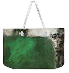 Symbol Mask Painting - 03 Weekender Tote Bag by Behzad Sohrabi