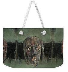 Symbol Mask Painting - 05 Weekender Tote Bag