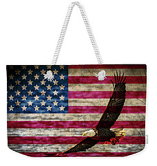 Symbol Of Freedom Weekender Tote Bag