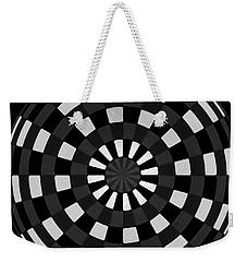 Weekender Tote Bag featuring the digital art Symbolic Kay  by Danica Radman