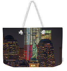 Symbols Of Freedom II Weekender Tote Bag by Clarence Holmes
