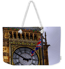 Symbols Of London Weekender Tote Bag