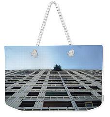 Symmetrical Block Weekender Tote Bag